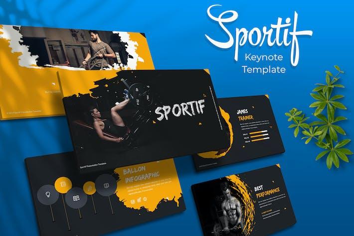Thumbnail for Sportif - Keynote Template