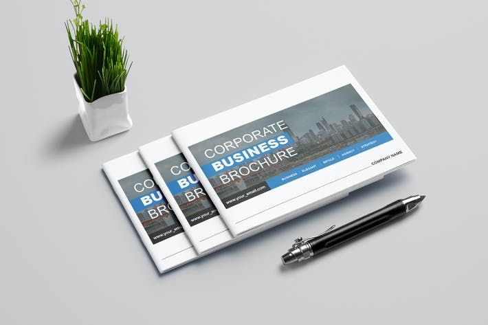 Thumbnail for Corporate Business Brochure - Landscape