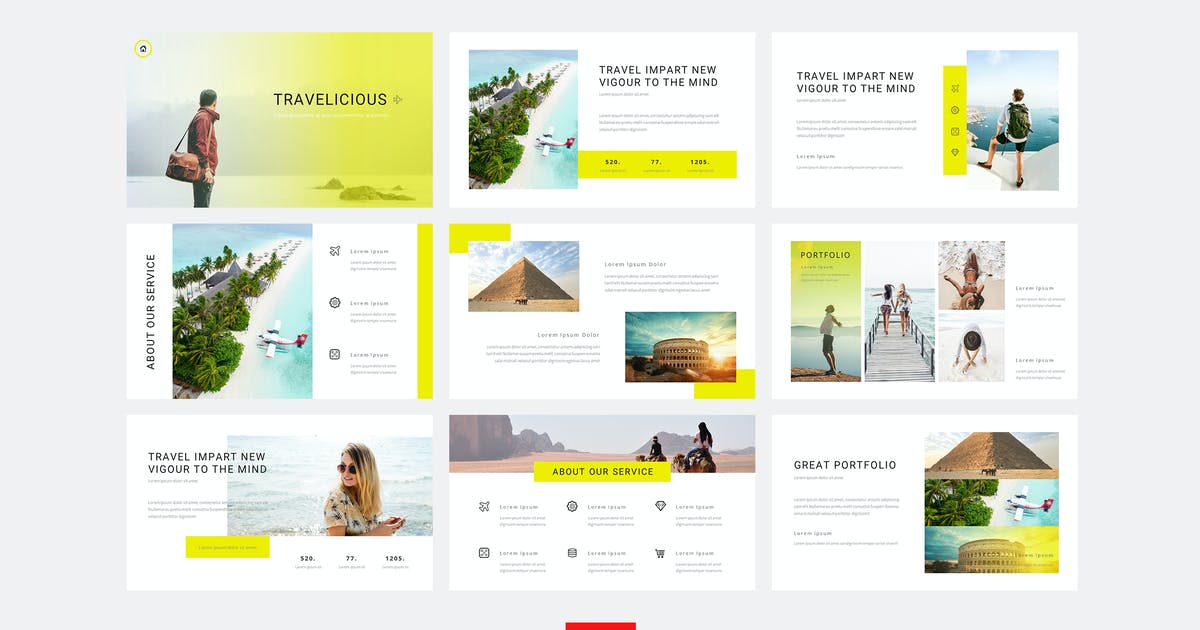 Download Travelicious - Travel Powerpoint Template by naulicrea