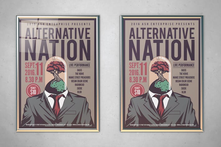 Thumbnail for Alternative Nation Flyer