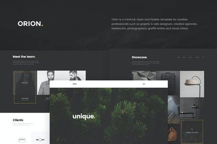 Orion - Minimal Portfolio HTML5 Template