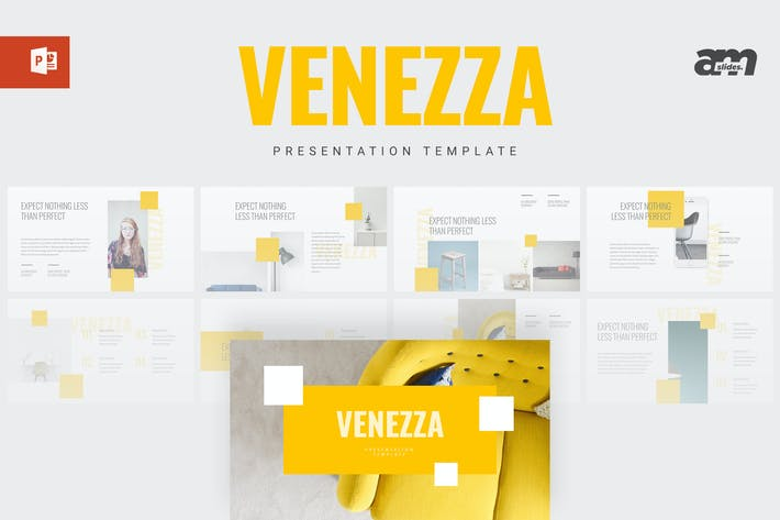 Thumbnail for Venezza - Powerpoint Template