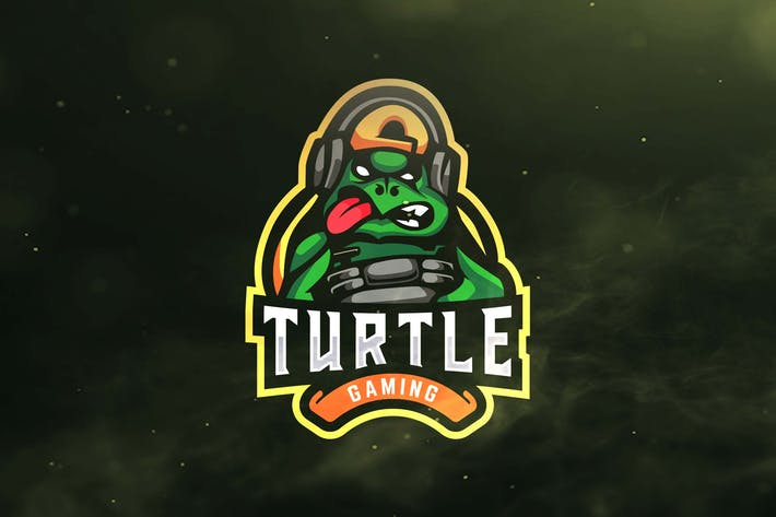 Thumbnail for Turtle Gaming Sport and Esports Logo