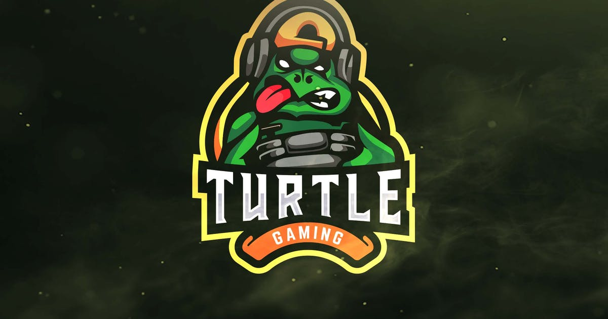Download Turtle Gaming Sport and Esports Logo by ovozdigital