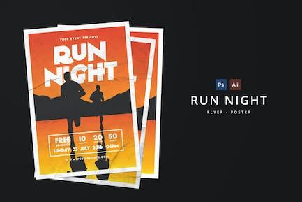 Run Night Flyer
