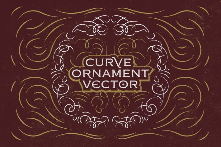 Thumbnail for Curve Ornament Vector