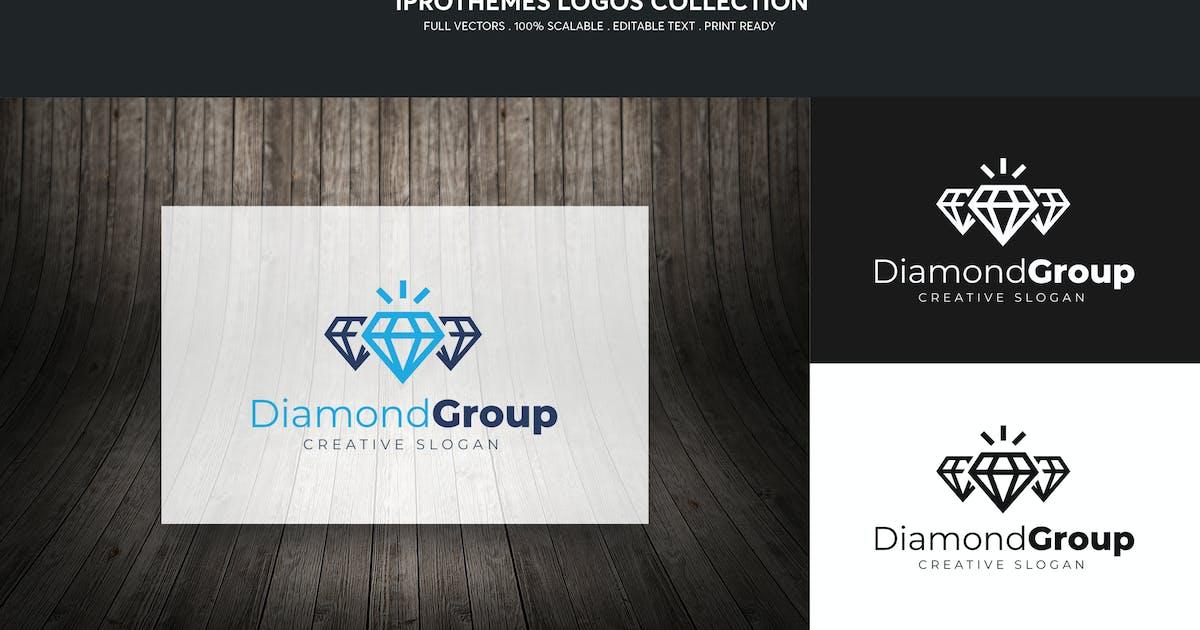 Download Diamond Group Logo Template by 1protheme