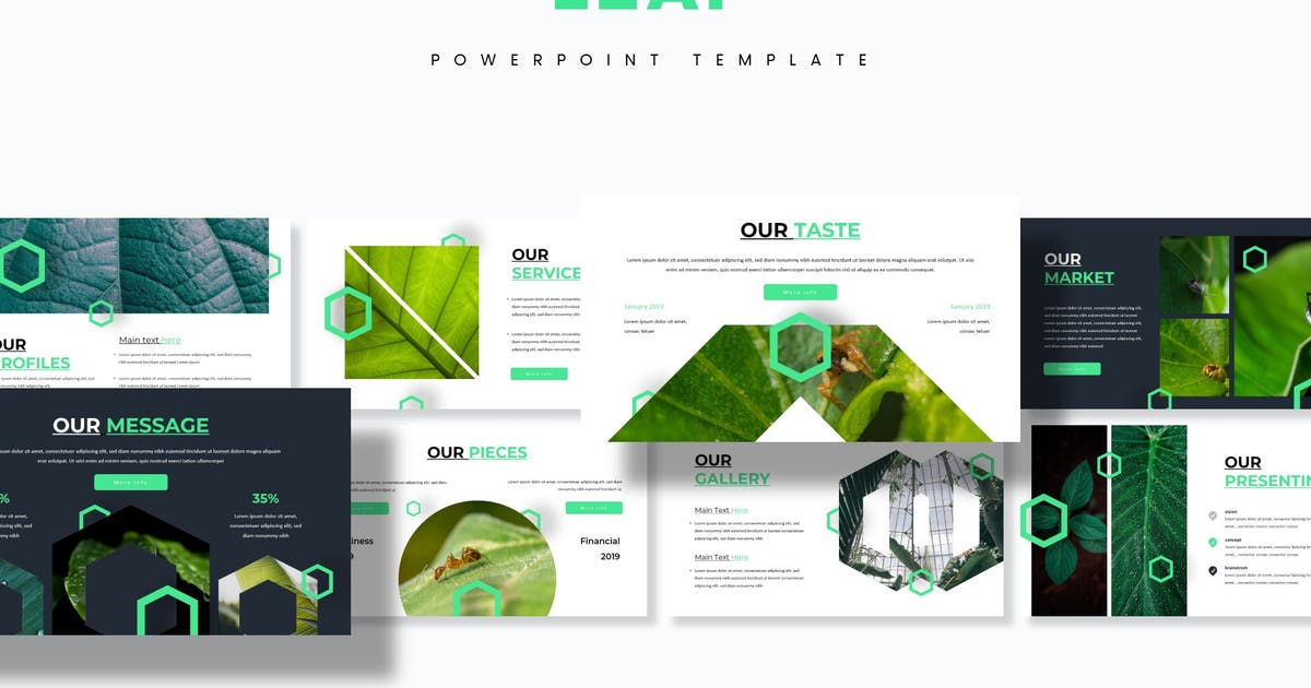 Download Leaf - Powerpoint Template by aqrstudio