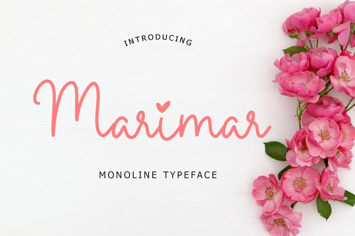Thumbnail for Marimar Monoline Typeface