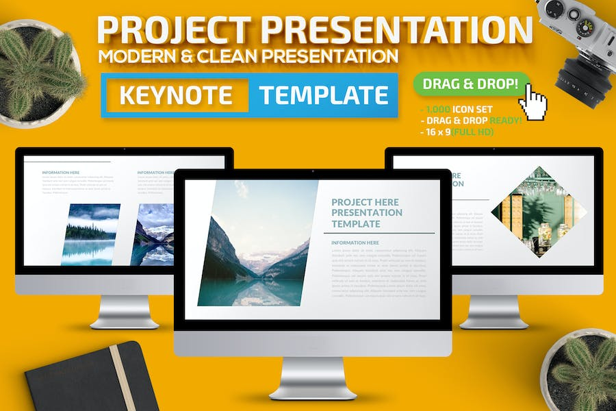 Project Keynote Presentation - product preview 0