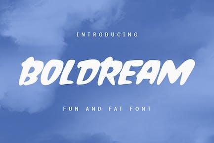 Boldream Fun Display Font