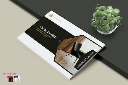 HOME DESIGN - A4  Interior Print Template