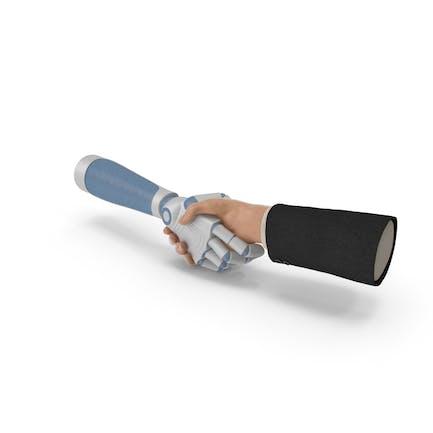 Tecnología de apretón de manos