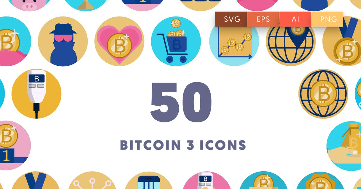 Download 50 Bitcoin 3 Icons by thedighital