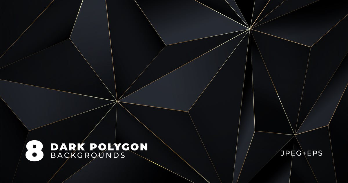 Download Dark Polygon Backgrounds by andrewtimothy