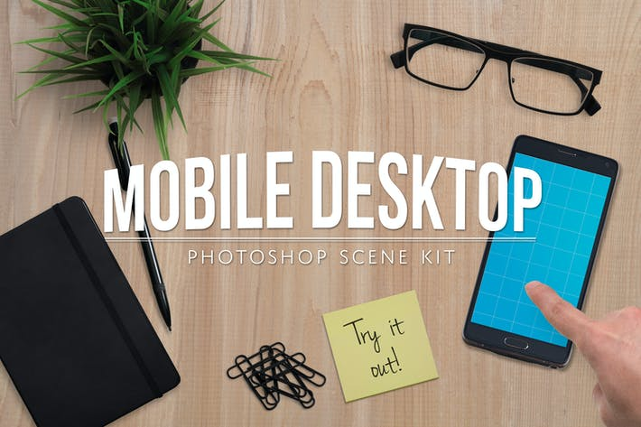 Thumbnail for Mobile App Desktop Scene Creator