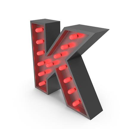 Bulp Letter K