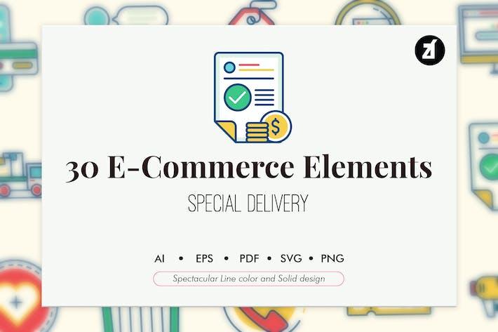 Thumbnail for 30 E-Commerce elements