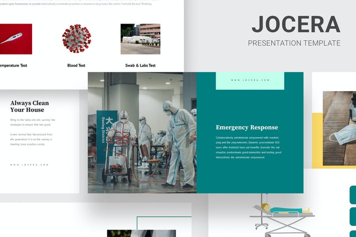Jocera - Health Education Infographic Powerpoint