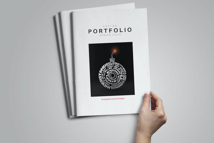 Thumbnail for InDesign Portfolio Templete