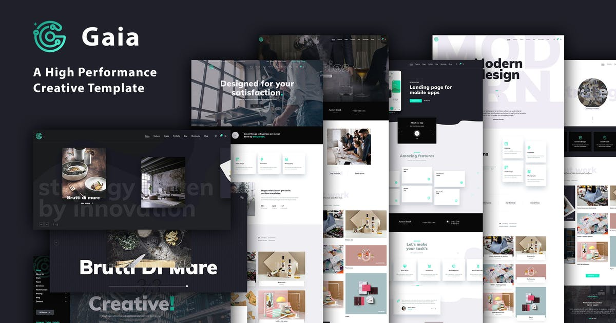 Download Gaia | A High Performance Creative Template by IG_design