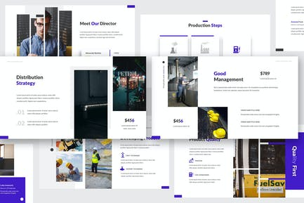 Oil and Gas Keynote Template