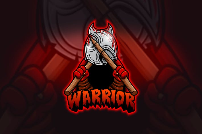 Thumbnail for Warrior - Mascot & Esport Logo