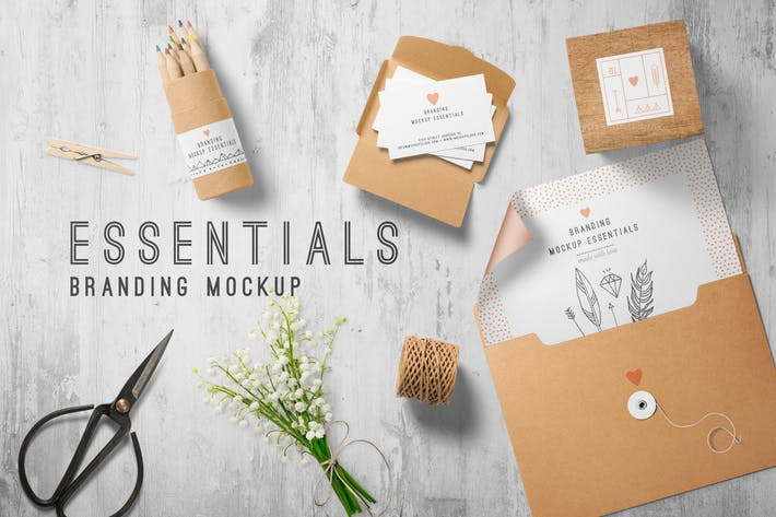 Thumbnail for Branding Mockup Essentials Vol. 7