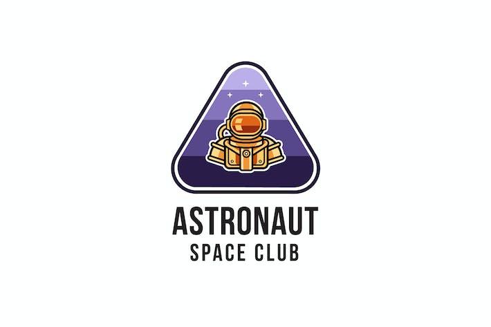 Thumbnail for Astronaut Space Club Logo Template