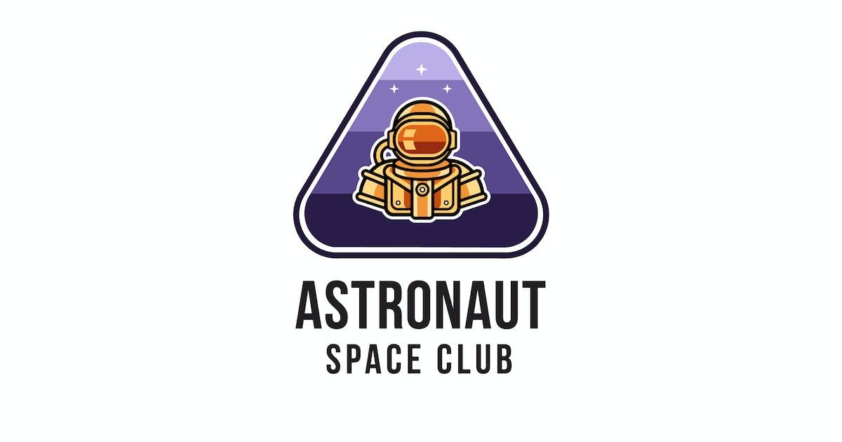 Download Astronaut Space Club Logo Template by IanMikraz