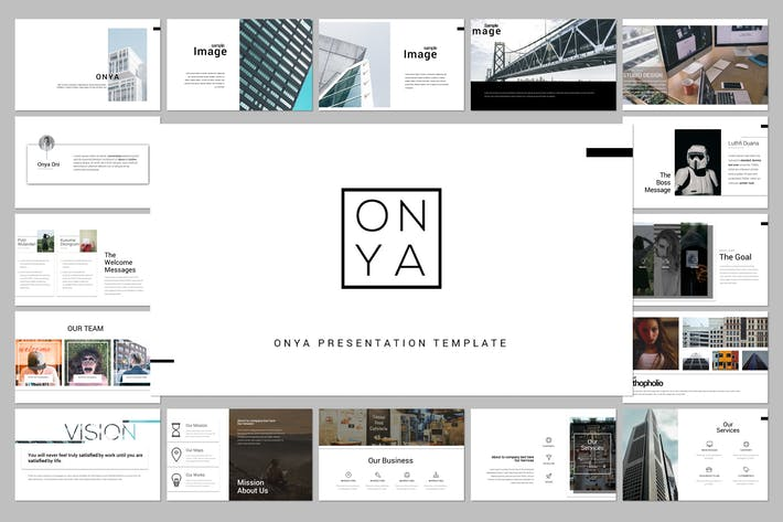 Thumbnail for Onya Minimal Creative Template
