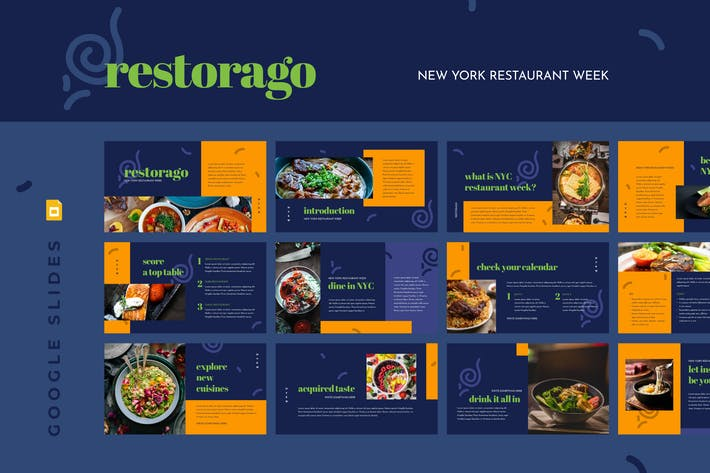 Thumbnail for RESTORAGO - New York Restaurant Week Google Slides