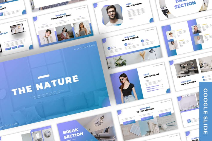 Thumbnail for The Nature - Business Google Slide Template