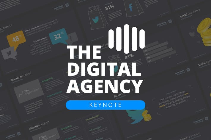 The Digital Agency - Keynote Template
