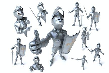 10 lustige Ritter!
