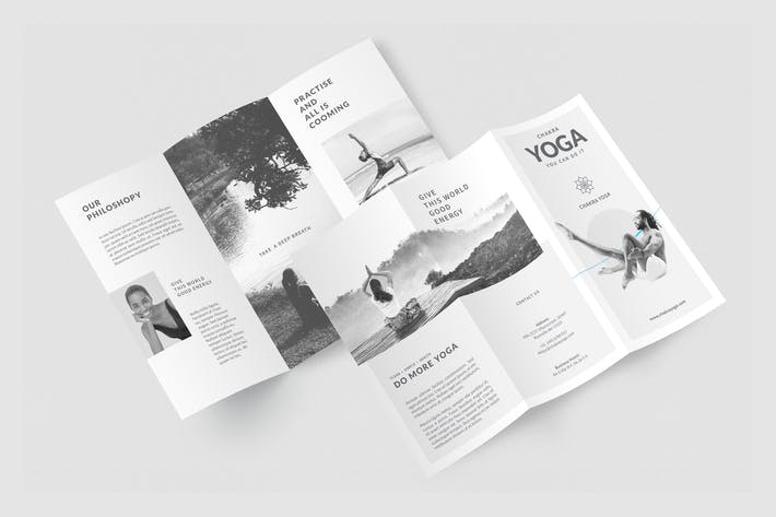 Thumbnail for Yoga Trifold Brochure