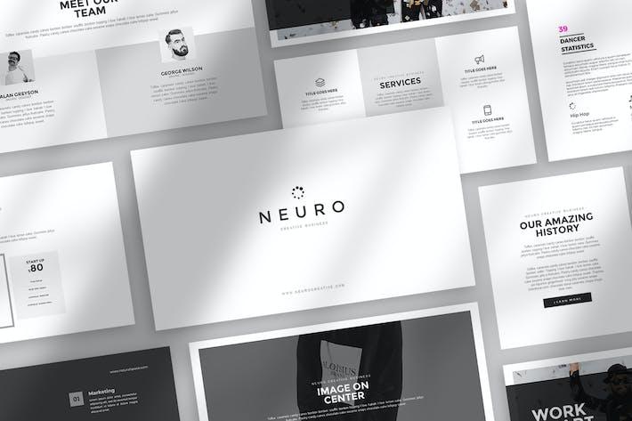 Thumbnail for Нейро Powerpoint Шаблон