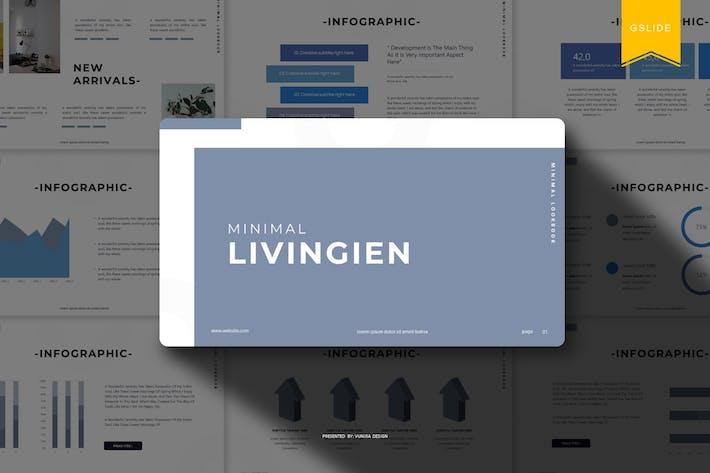Thumbnail for Livingien | Google Slides Template