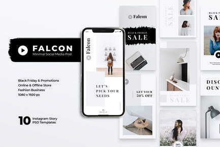 FALCON Creative Agency Instagram Stories