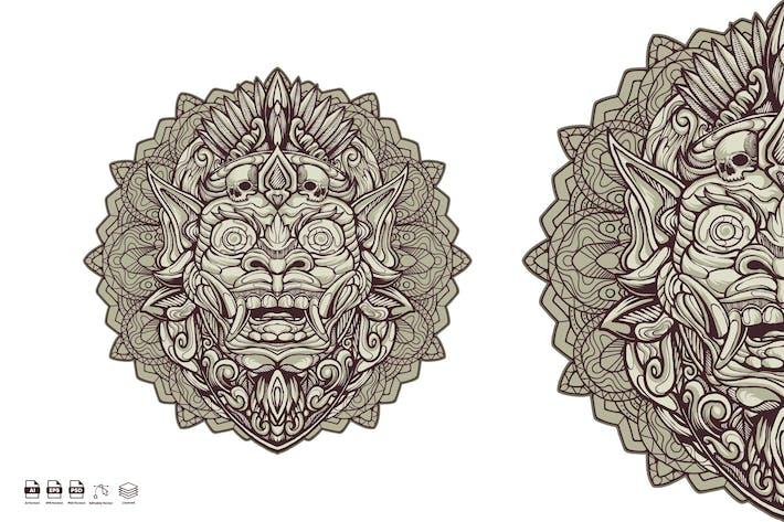 Thumbnail for Barong Mask