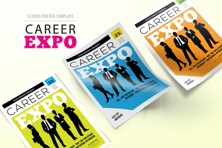 Thumbnail for Career Expo Flyers