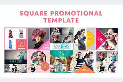 Square Promotional Template