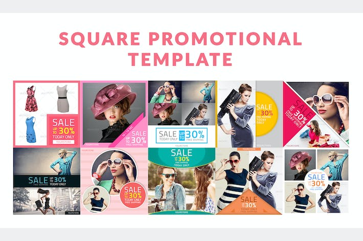 Thumbnail for Square Promotional Template