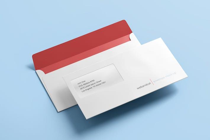Cover Image For Envelope DL Mock-up