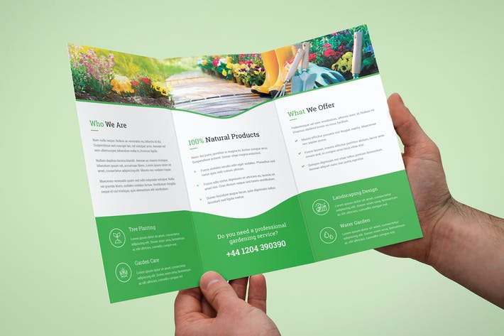 Cover Image For Brochure – Garden Tri-Fold