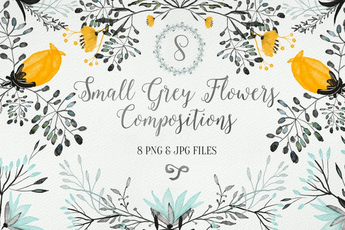 Thumbnail for Small Grey Flowers