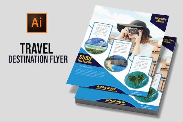 Travel Destination Flyer vol 4