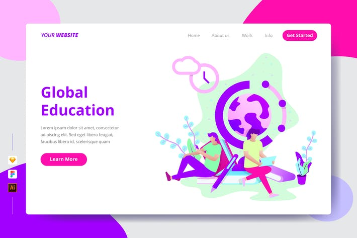 Global Education - Zielseite