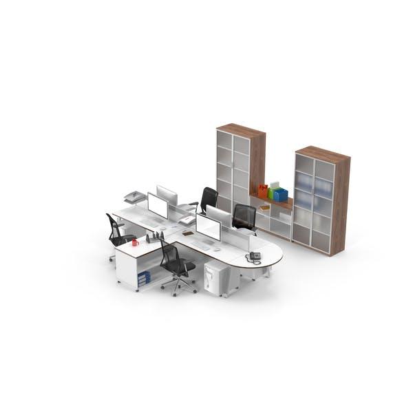 Четырехместный стол