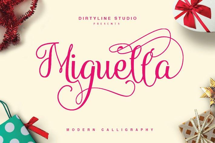 Thumbnail for Miguella Script Elegant Wedding Font